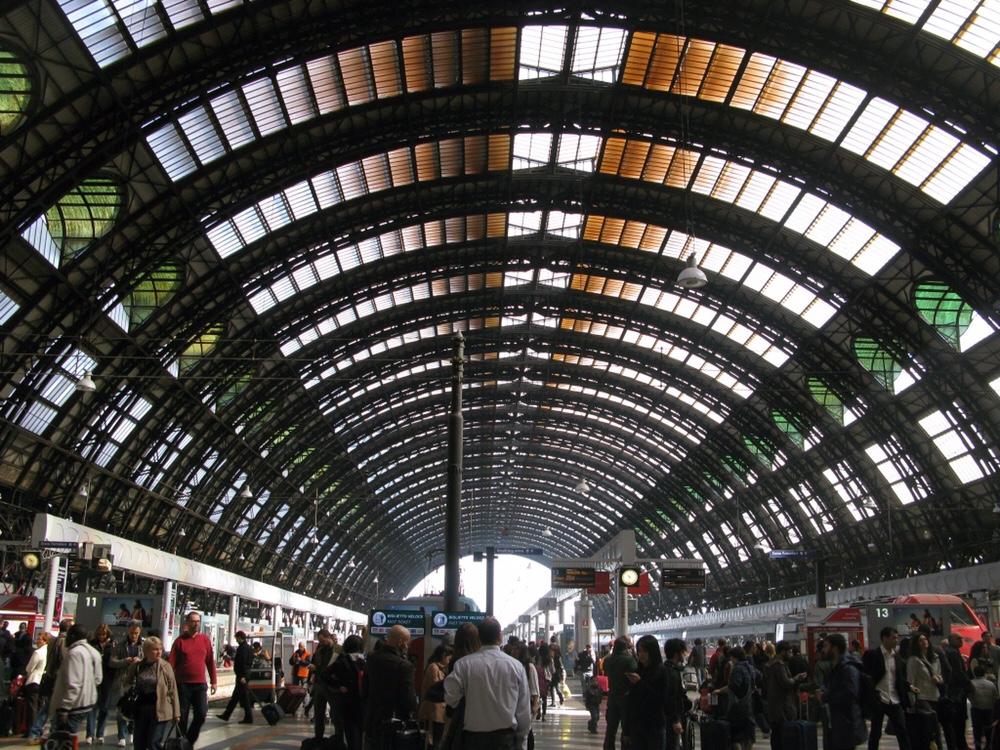 美麗的Milano Centrale